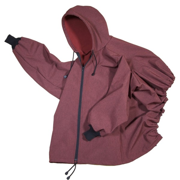 Softshell-Jacke Bordo