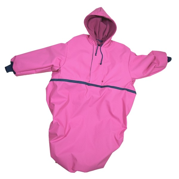 Wetterfestes Outdoorcape Pink
