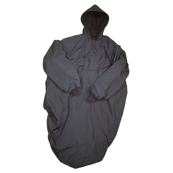 Wetterfestes Outdoorcape Pure Black