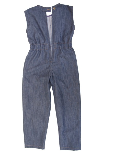 Stretchjeans Overall, blau