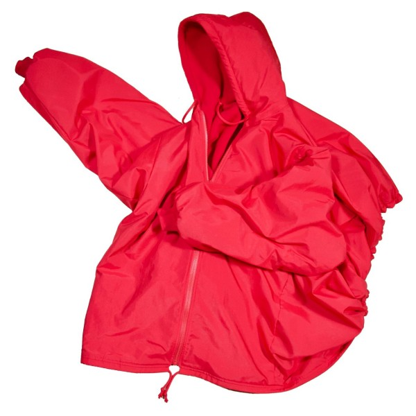 Outdoorjacke highTech, rot.