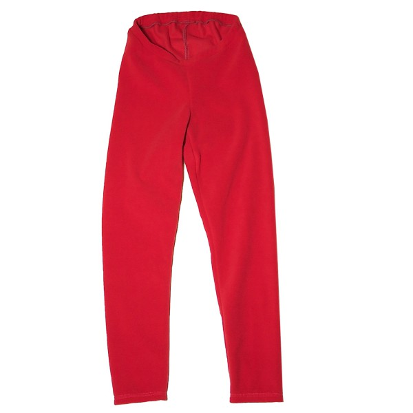 Thermo- Leggings aus Fleece, rot