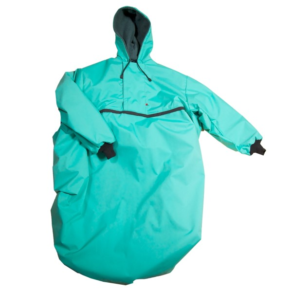 Wetterfestes Outdoorcape Mint.