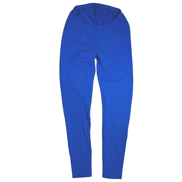 Leggings aus Sweatshirtstoff, royalblau