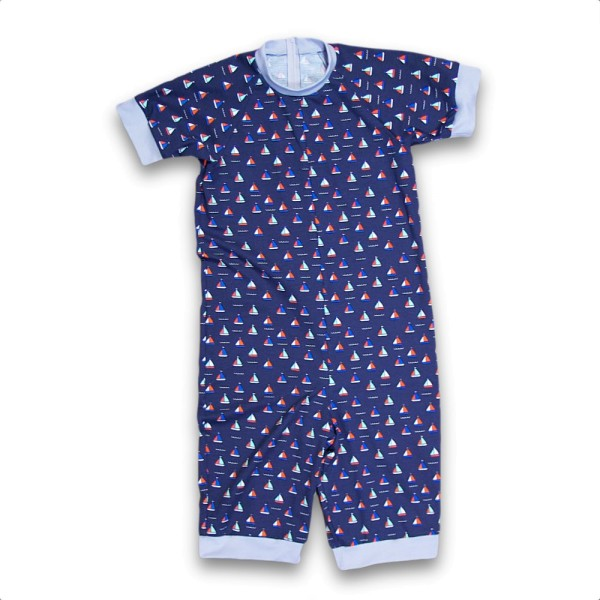 Shorty blaue Jolle